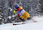 Chris Williamson and Nick Brush, Vancouver 2010 - Para Alpine Skiing // Ski para-alpin.<br /> Chris Williamson and guide Nick Brush compete in Para Alpine Skiing // Chris Williamson et son guide Nick Brush participent en ski para-alpin. 14/03/2010.
