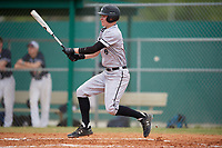 Edgewood Eagles designated hitter Joseph Kalafut (6) during the first game of a double header against the Bethel Wildcats on March 15, 2019 at Terry Park in Fort Myers, Florida.  Bethel defeated Edgewood 6-0.  (Mike Janes/Four Seam Images)
