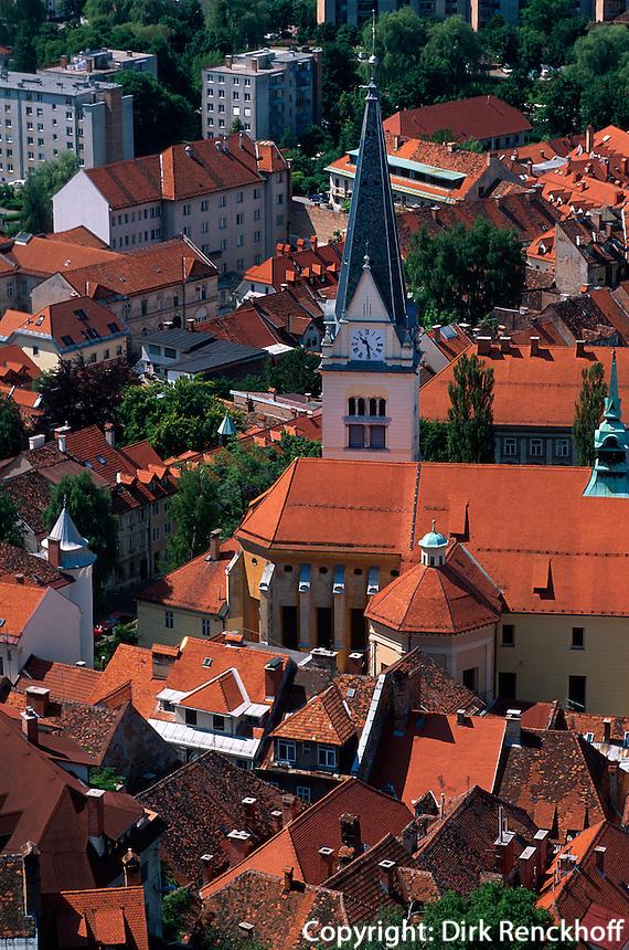 Slowenien. Lubljana, Jakobkirche.