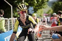 at the finish in L'Aquila<br /> <br /> Stage 7: Vasto to L'Aquila (180km)<br /> 102nd Giro d'Italia 2019<br /> <br /> ©kramon
