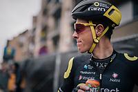 Niki Terpstra (NED/Direct Energie) post-finish<br /> <br /> 74th Omloop Het Nieuwsblad 2019 <br /> Gent to Ninove (BEL): 200km<br /> <br /> ©kramon