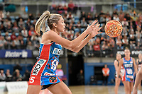 6th June 2021; Ken Rosewall Arena, Sydney, New South Wales, Australia; Australian Suncorp Super Netball, New South Wales, NSW Swifts versus Giants Netball; Helen Housby of NSW Swifts catches the ball