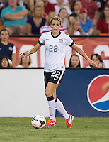Leigh Ann Robinson. The USWNT defeated Mexico, 7-0, during an international friendly at RFK Stadium in Washington, DC.  The USWNT defeated Mexico, 7-0.