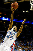 North Carolina's Wayne Ellington during the NCAA Basketball Men's East Regional at Time Warner Cable Arena in Charlotte, NC.