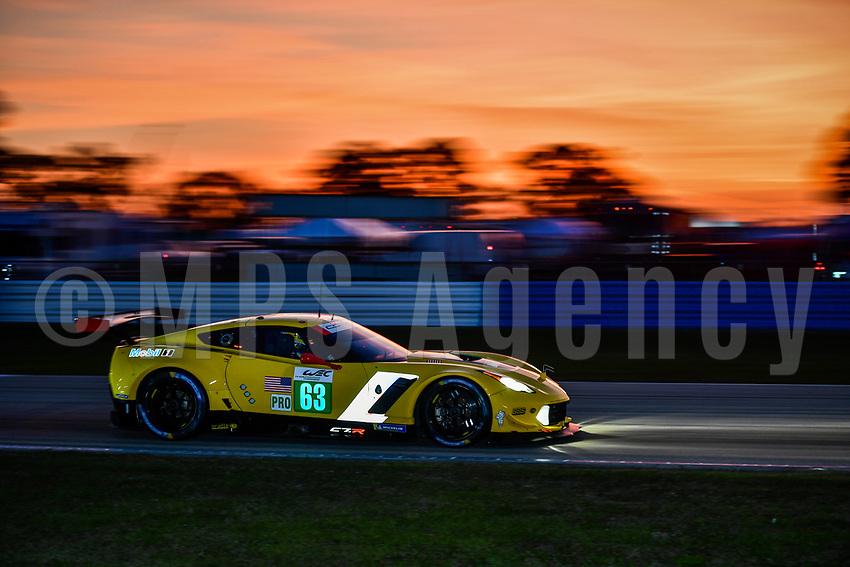 #63 CORVETTE RACING (USA) CHEVROLET CORVETTE C7R GTE PRO JAN MAGNUSSEN (DNK) ANTONIO GARCIA (ESP) MIKE ROCKENFELLER (DEU)