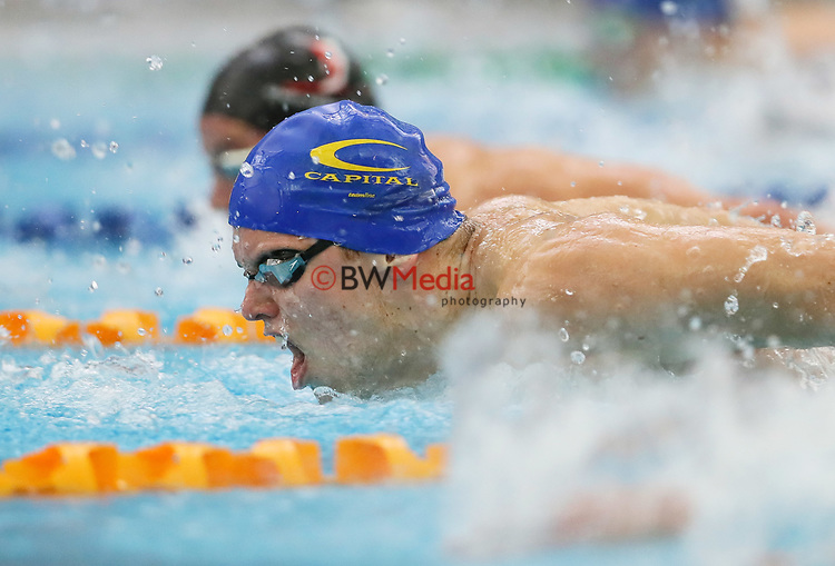 Lochlainn O'Connor. Session 7 of the AON New Zealand Swimming Champs, National Aquatic Centre, Auckland, New Zealand. Thursday 8 April 2021 Photo: Simon Watts/www.bwmedia.co.nz