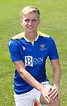 Ali McCann, St Johnstone FC...2021-22 Season<br />Picture by Graeme Hart.<br />Copyright Perthshire Picture Agency<br />Tel: 01738 623350  Mobile: 07990 594431