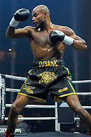 Sebastian Eubank (black shorts) defeats Kamil Kulczyk during a Boxing Show at the Manchester Arena on 17th February 2018