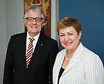 140619: Christoph STRÄSSER meets with Kristalina GEORGIEVA
