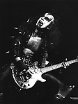 Kiss 1976 Gene Simmons in London
