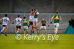 Paul Murphy, Kerry in action against Dessie Conneely, Galway during the Allianz Football League Division 1 South Round 1 match between Kerry and Galway at Austin Stack Park in Tralee.