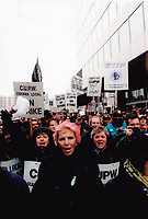 1997 FILE PHOTO - ARCHIVES -<br /> <br /> Strikes - Canada - Post Office 1997<br /> <br /> Goode, Jeff<br /> Picture, 1997<br /> <br /> PHOTO :  Jeff Goode - Toronto Star Archives - AQP