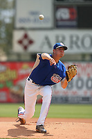 May 26 2008:  Tim Sexton of the Inland Empire 66'ers during game against the Bakersfield Blaze at Arrowhead Credit Union Park in San Bernardino,CA.  Photo by Larry Goren/Four Seam Images