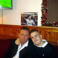 Pictured: Scott Bryant (R) with his father Stephen (L), image taken from open facebook account.<br />