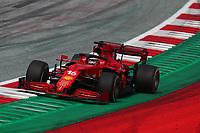 #16 Charles Leclerc, Scuderia Ferrari. Formula 1 World championship 2021, Austrian GP 4-7-2021Photo Federico Basile / Insidefoto