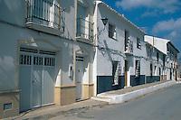 Spanien, Andalusien, im Dorf Velez Blanco in der Provinz Almeria