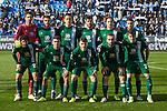 Team photo of RCD Espanyol during La Liga match between CD Leganes and RCD Espanyol at Butarque Stadium in Leganes, Spain. December 22, 2019. (ALTERPHOTOS/A. Perez Meca)