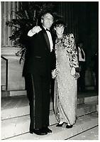 Brian et Mila   Mulroney<br /> , le 8 septembre 1983<br /> <br /> PHOTO :  Agence Quebec Presse