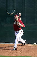 Bo Schultz of the Arizona Diamondbacks participates in the first day of spring training workouts at Salt River Fields on February 7, 2014 in Scottsdale, Arizona (Bill Mitchell)