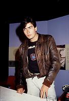 Charlie Sheen au Festival des films du monde 1985<br /> <br /> <br /> (date inconnue)<br /> <br /> PHOTO : Agence Quebec Presse