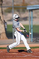 Lyle Whitney (43), from Newcastle, Wyoming, while playing for the Tigers during the Under Armour Baseball Factory Recruiting Classic at Red Mountain Baseball Complex on December 29, 2017 in Mesa, Arizona. (Zachary Lucy/Four Seam Images)