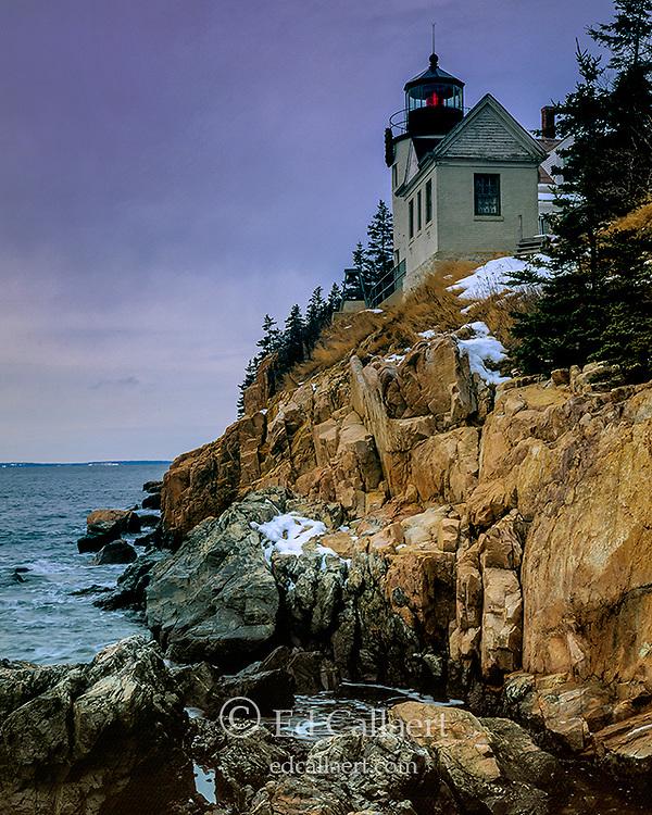Dawn, Bass Head Lighthouse, Acadia National Park, Maine