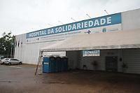 Araraquara (SP), 17/02/2021 - Lockdown-SP - Hospital da Solidariedade no enfrentamento ao Coronavirus em Araraquara , interior de São Paulo, nesta quarta-feira (17). O município no centro do Estado de São Paulo com 238 mil habitantes, viu nesta terça-feira, 16, seu sistema de saúde colapsar, um dia após a cidade ter decretado lockdown. Segundo a prefeitura, 100% dos leitos para covid-19 em UTI e enfermaria estavam ocupados e 16 pacientes com necessidade de oxigênio aguardavam pela manhã uma vaga de internação.