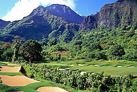 No. 18 hole at Koolau Golf Club is the most difficult hole on the course which is also rated as the most difficult in the United States
