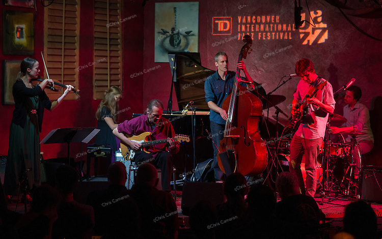 Pugs and Crows and Tony Wilson play IronWorks, June 27, 2014 TD Vancouver International Jazz Festival