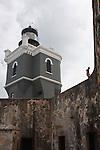 Lighthouse at Castillo  San Felipe del Morro, San Juan, PR