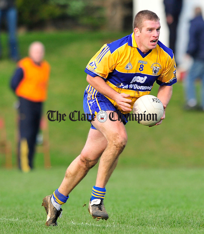 Clare v Tipperary Division 4 Round 2 football league at Ardfinnan co Tipperary.Pic Arthur Ellis...Ger Quinlan
