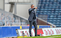 Nottingham Forest manager Chris Hughton shouts instructions to his team from the technical area<br /> <br /> Photographer Alex Dodd/CameraSport<br /> <br /> The EFL Sky Bet Championship - Blackburn Rovers v Nottingham Forest - Saturday 17th October 2020 - Ewood Park - Blackburn<br /> <br /> World Copyright © 2020 CameraSport. All rights reserved. 43 Linden Ave. Countesthorpe. Leicester. England. LE8 5PG - Tel: +44 (0) 116 277 4147 - admin@camerasport.com - www.camerasport.com