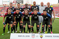 Frisco, TX. - May 25, 2016: The USMNT take on Ecuador in an international friendly match at Toyota Stadium.