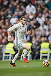 Gareth Bale of Real Madrid  runs with the balls during the match Real Madrid vs RCD Espanyol, a La Liga match at the Santiago Bernabeu Stadium on 18 February 2017 in Madrid, Spain. Photo by Diego Gonzalez Souto / Power Sport Images