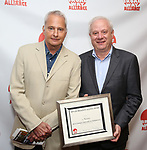Scott Morfee andTom Wirtshafter attends the 2019 Off Broadway Alliance Awards Reception at Sardi's on June 18, 2019 in New York City.