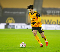 8th January 2021; Molineux Stadium, Wolverhampton, West Midlands, England; English FA Cup Football, Wolverhampton Wanderers versus Crystal Palace; Rayan Ait Nouri of Wolverhampton Wanderers breaks forward with the ball at his feet