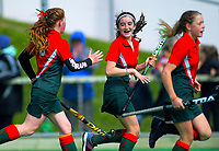 Action from the 2019 Collier Trophy Under-13 Girls' Hockey Tournament match between NManawatu and Wairarapa at National Hockey Stadium in Wellington, New Zealand on Friday, 9 October 2019. Photo: Dave Lintott / lintottphoto.co.nz