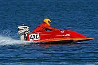 42-C..Stock outboard hydro