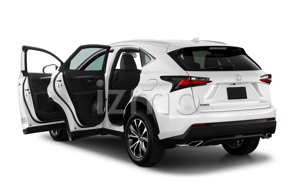 Car images of 2017 Lexus NX 200t-F-Sport 5 Door SUV Doors