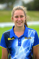 Ella Brown. The 2017 Otago Sparks headshots at the Basin Reserve in Wellington, New Zealand on Sunday, 5 January 2016. Photo: Dave Lintott / lintottphoto.co.nz