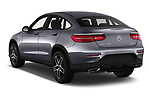 Car pictures of rear three quarter view of 2017 Mercedes Benz GLC-Coupe 220-D 5 Door SUV Angular Rear