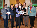 """Litter Strategy Awards 2013 : Councillor Craig R Martin presents the """"Super Stars"""" award Thornwood Tenant and Residents Association."""