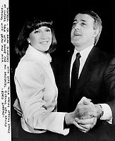 Mila and Brian Mulroney dance at the closing of the conservative convention in Montreal, Qc.<br /> <br /> Photo : Boris Spremo - Toronto Star archives - AQP