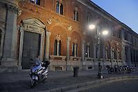 - Milan, front of State University, former Ca' Granda mediaeval hospital<br /> <br /> - Milano, facciata dell'Università Statale, ex ospedale medioevale Ca' Granda