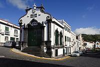 Heiliggeisttempel (Imperio dos Nobres) in Horta auf der Insel Faial, Azoren, Portugal
