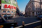 Piccadilly Circus, London, England, London street scene, Great Britain, United Kingdom,.