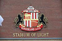 Pictured: Sunderland AFC, Stadium Of Light exterior view. Sunday 11 May 2014<br /> Re: Barclay's Premier League, Sunderland v Swansea City FC at the Stadium of Light, Sunderland, UK.
