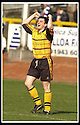 06/04/2002                 Copyright Pic : James Stewart .Ref :     .File Name : stewart-alloa v qos   22.ANDY SEATON CELEBRATES AFTER SCORING ALLOA'S FOURTH GOAL.....James Stewart Photo Agency, 19 Carronlea Drive, Falkirk. FK2 8DN      Vat Reg No. 607 6932 25.Office     : +44 (0)1324 570906     .Mobile  : + 44 (0)7721 416997.Fax         :  +44 (0)1324 630007.E-mail  :  jim@jspa.co.uk.If you require further information then contact Jim Stewart on any of the numbers above.........