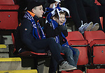 St Johnstone v Stenhousemuir…21.01.17  McDiarmid Park  Scottish Cup<br />A happy young saints fan<br />Picture by Graeme Hart.<br />Copyright Perthshire Picture Agency<br />Tel: 01738 623350  Mobile: 07990 594431