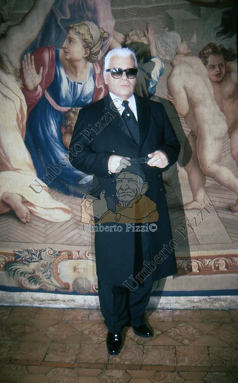 KARL LAGERFELD<br /> PALAZZO FARNESE ROMA